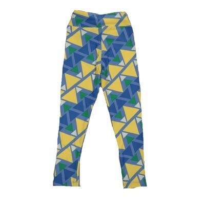 LuLaRoe Kids Small-Medium Geometric Stripe Leggings ( S/M fits kids 2-8 ) SM-1003-Q