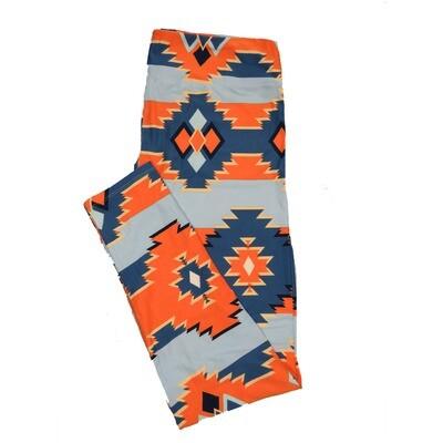 LuLaRoe TC2 Geometric Aztek Southwestern Stripe Leggings (TC2 fits sizes 18+) 9003-S