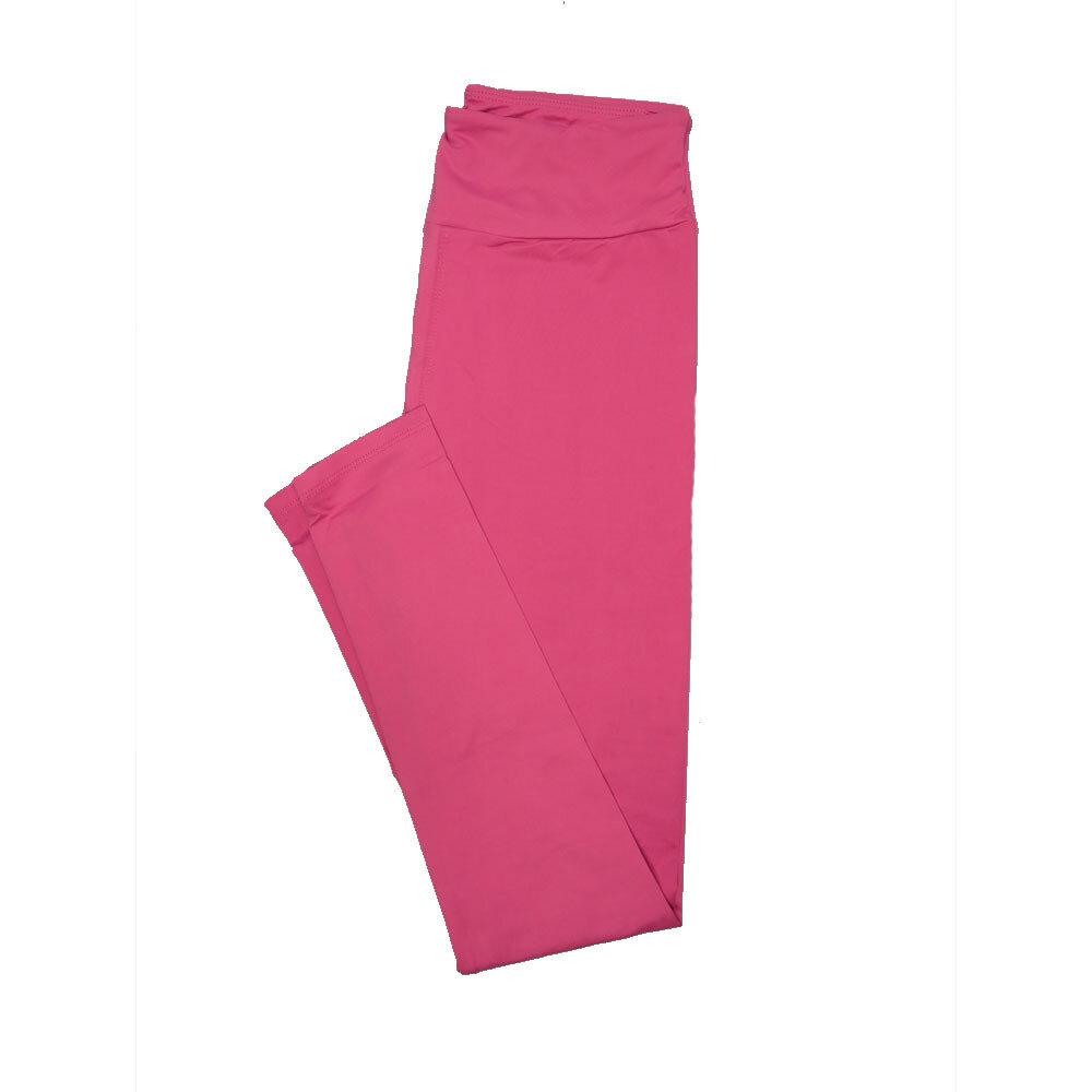 LuLaRoe One Size OS Solid Dusty Rose (172520) Womens Leggings fits Adult sizes 2-10