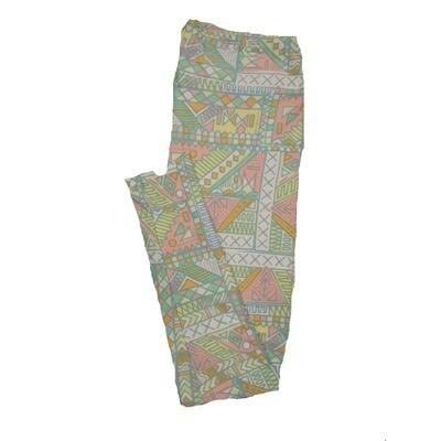 LuLaRoe Tall Curvy TC Leggings Geometric (TC fits 12-18) TC-7010-N