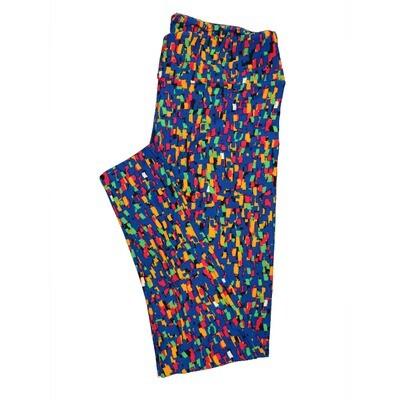 LuLaRoe Tall Curvy TC Leggings Geometric (TC fits 12-18) TC-7011-N