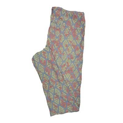 LuLaRoe Tall Curvy TC Leggings Geometric (TC fits 12-18) TC-7011-W
