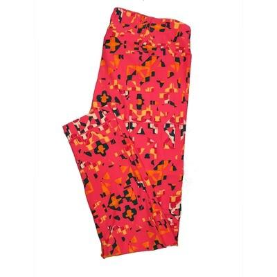 LuLaRoe Tall Curvy TC Leggings Geometric (TC fits 12-18) TC-7012-A
