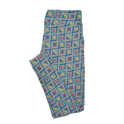 LuLaRoe Tall Curvy TC Leggings Geometric (TC fits 12-18) TC-7012-R