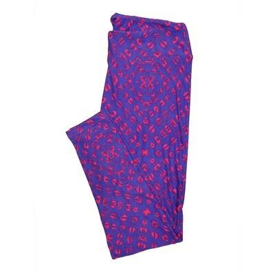 LuLaRoe Tall Curvy TC Leggings Geometric (TC fits 12-18) TC-7012-U