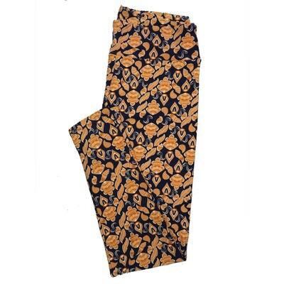 LuLaRoe Tall Curvy TC Leggings Paisley (TC fits 12-18) TC-7027-Y