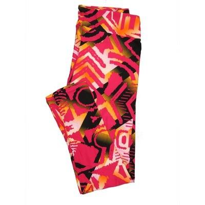 LuLaRoe Tall Curvy TC Leggings Geometric (TC fits 12-18) TC-7013-J4