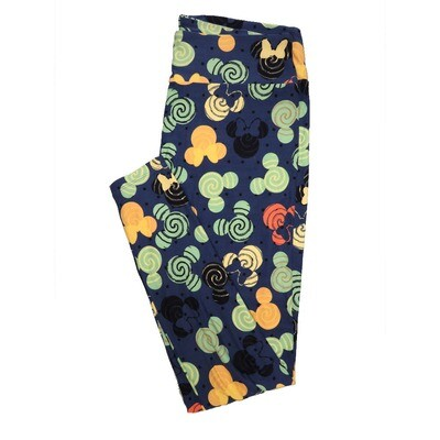 LuLaRoe Tall Curvy TC Leggings Disney Mickey and Minnie Mouse (TC fits 12-18) TC-7040-D2