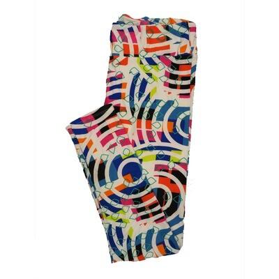 LuLaRoe Tall Curvy TC Leggings Geometric (TC fits 12-18) TC-7013-V2