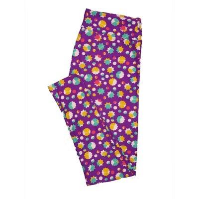 LuLaRoe Tall Curvy TC Leggings Polka Dot (TC fits 12-18) TC-7000-B