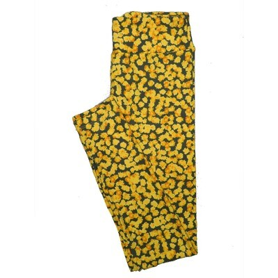 LuLaRoe One Size OS Floral Leggings (OS fits Adults 2-10) OS-4070-I