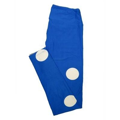 LuLaRoe One Size OS Polka Dots Leggings (OS fits Adults 2-10) OS-4060-A2