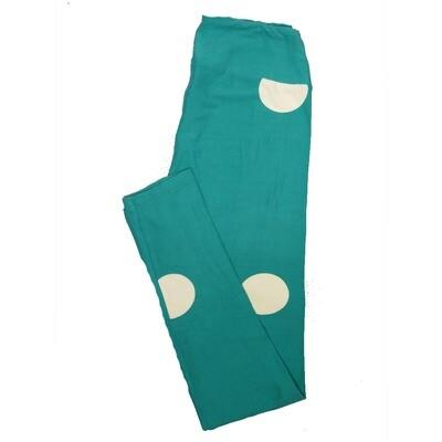 LuLaRoe One Size OS Polka Dots Leggings (OS fits Adults 2-10) OS-4061-I