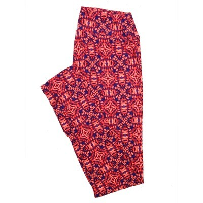 LuLaRoe One Size OS Psychedelic 70's and Trippy Leggings (OS fits Adults 2-10) OS-4078-H