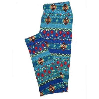 LuLaRoe One Size OS Animals Stars and Objects Leggings (OS fits Adults 2-10) OS-4096-J