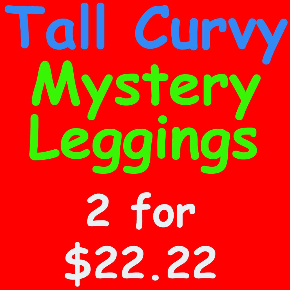 LuLaRoe Mystery Leggings Tall Curvy 2 pairs for $22.22 TC fits 12-18