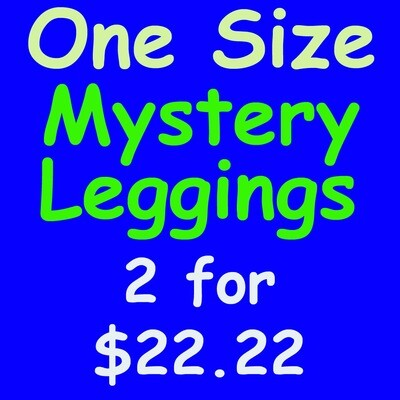 LuLaRoe Mystery Leggings One Size 2 pairs for $22.22 OS fits 2-10