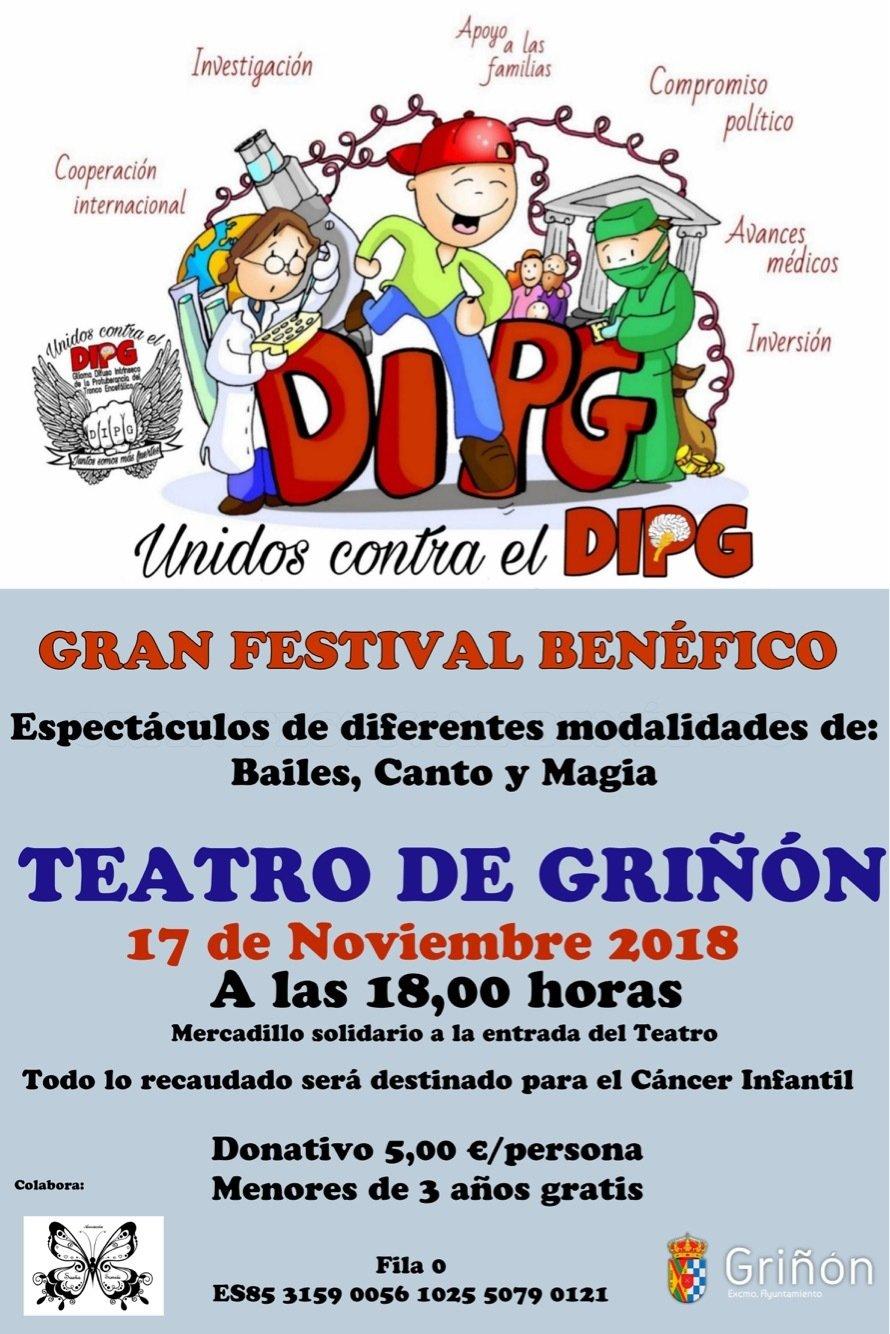 ENTRADA - Gran Festival Benéfico Unidos contra el DIPG