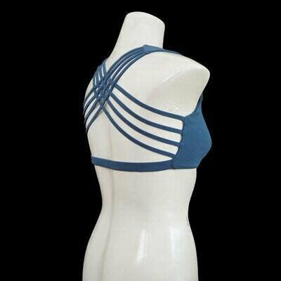 Yoga X-Top Bustier - Blau