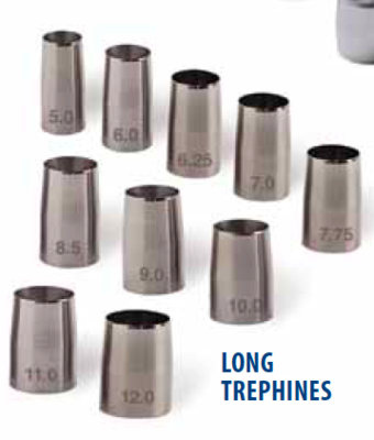 Surgistar  Long Handled Trephines