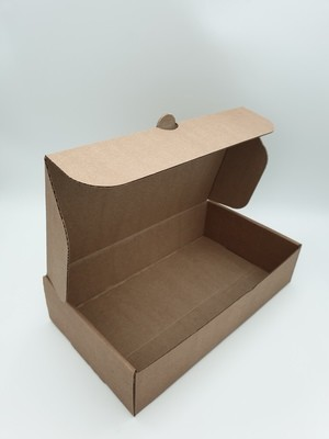 Box Corrugated  Rib - Kraft (each)