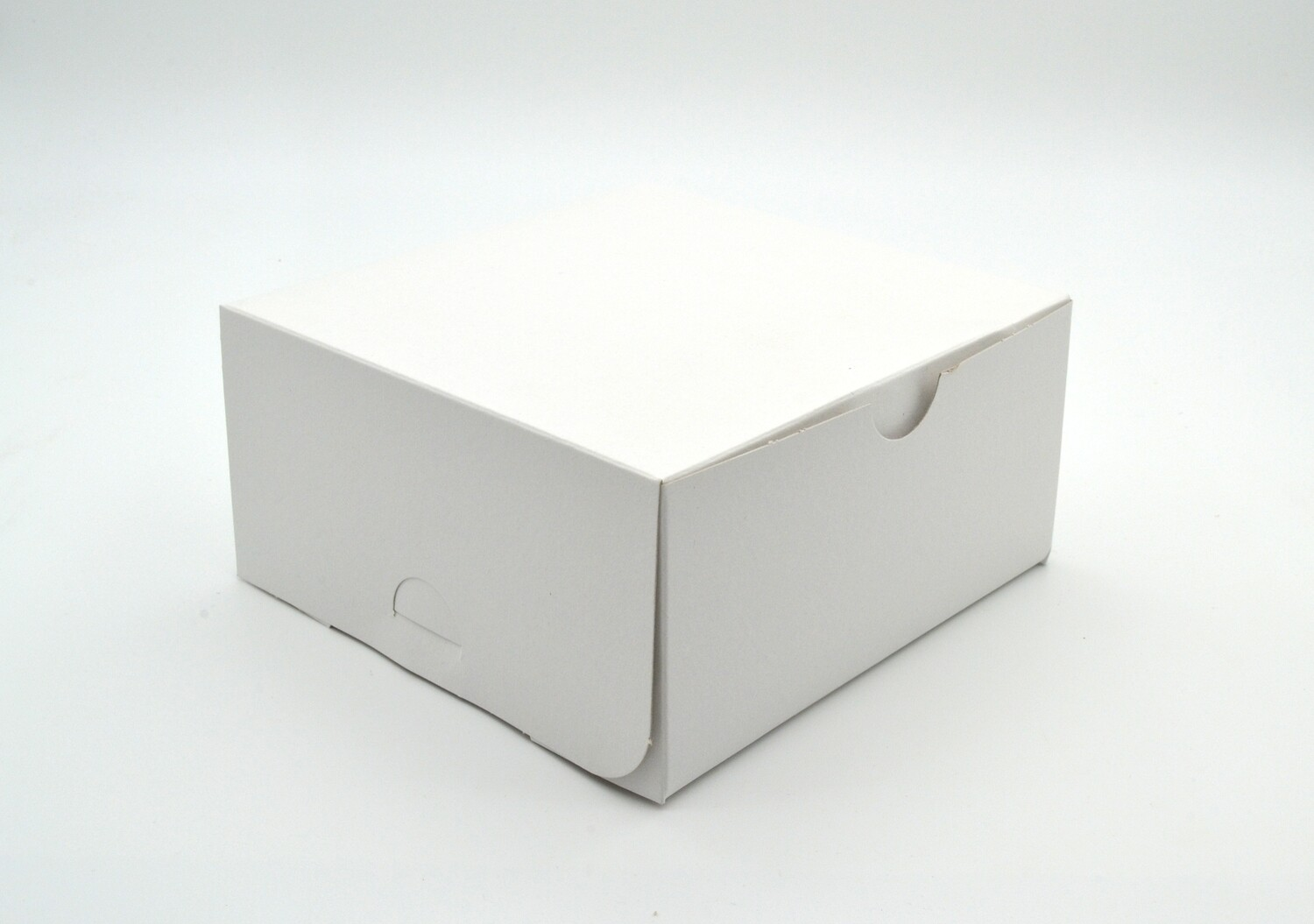 Cake Box 6 x 6 x 3 White (ea)