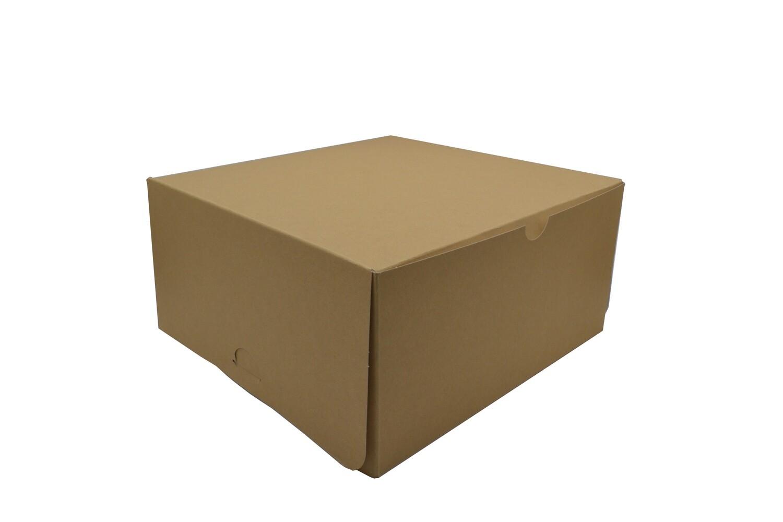 Cake Box Eco Brown 12 x 12 x 6 (ea)