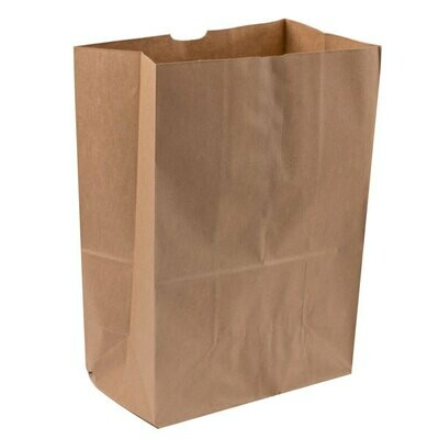 Paper Bags Kraft  Large Take Out  320x155x392.5mm (50)