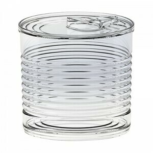Catering Tin Can 220ml Transparent