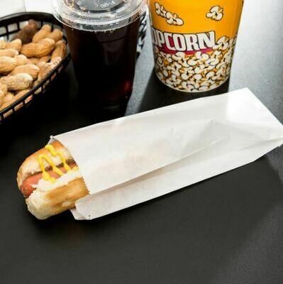 Grease Proof Bags Hotdog Long (Qty 1000)