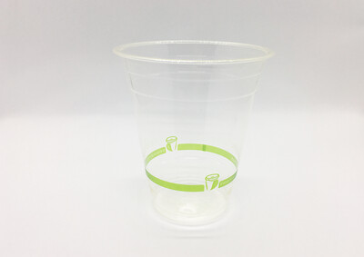 BioCup PLA Clear Cup 350ml (Qty 50)