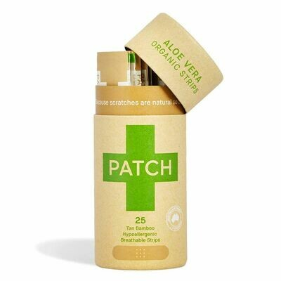 Patch Aloe Vera Adhesive Bandages Tube of 25