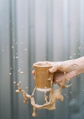 Coffee Cups Double Wall 250ml - Kraft (Qty 50)