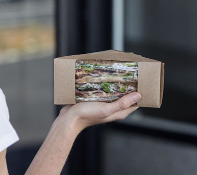 Box Sandwich Wedge Window (Qty 25)