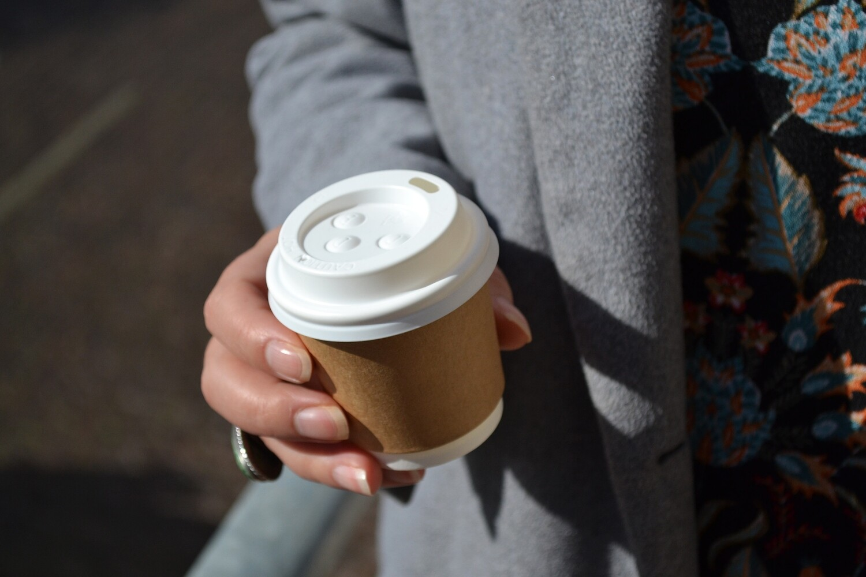 Espresso Cup Double Wall 100ml - Kraft (Qty 50)