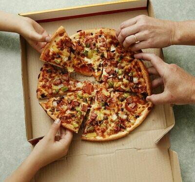 Box Corrugated Pizza Large 32cm Brown (Qty 50)