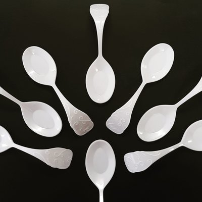 Spoon Baroque Pearly White (Qty 50)