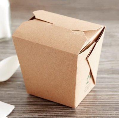 Box Noodle Polycoated Eco Kraft 16oz (Qty 25)