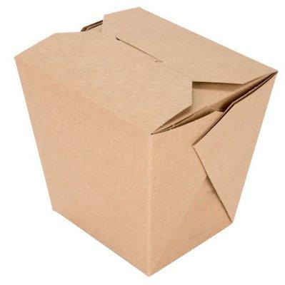 Box Noodle Polycoated Eco Kraft 26oz (Qty 25)