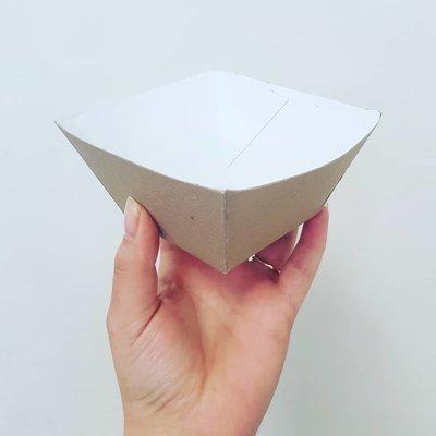 Box Dish Bowl Small (Qty 50)