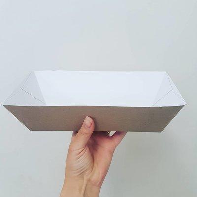 Box Dish Bowl Hot Dog (Qty 50)