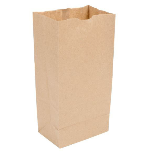 Paper Bags SO 6 Brown (Qty 500)