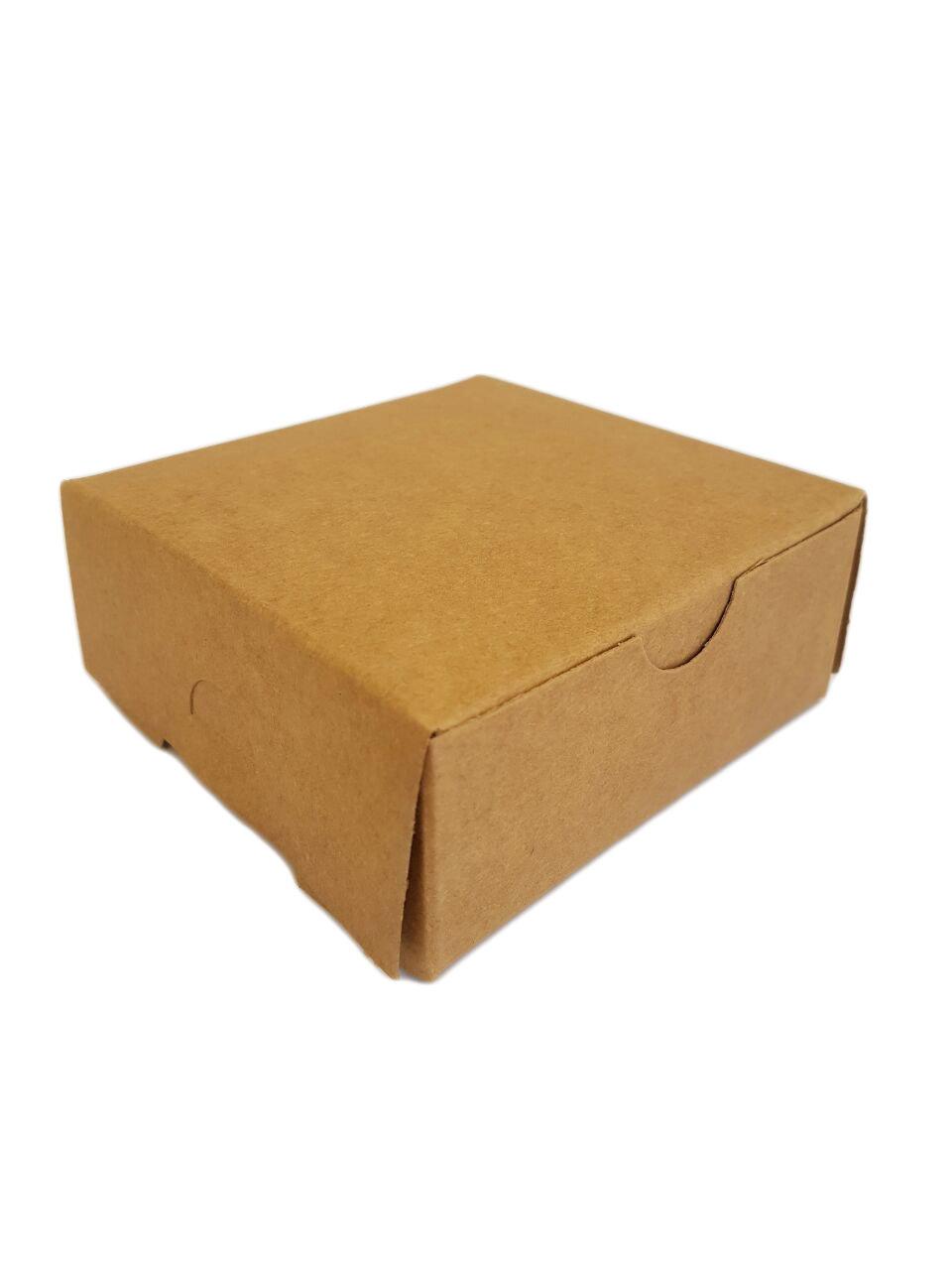 Cake Box Eco Brown 4 x 4 x 1.5