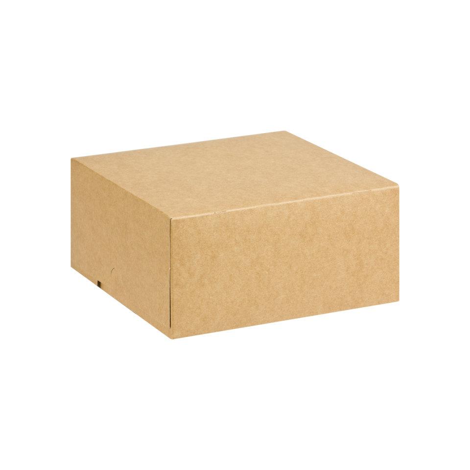 Cake Box Eco Brown 7 x 7 x 3