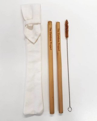 Bamboo Straws Mini Pack (set)