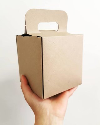 Box Bunny Chow With Handle (Qty 50)