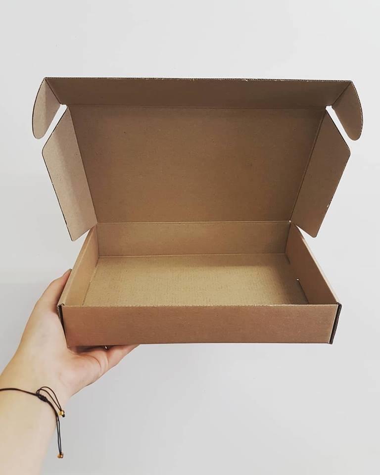 Shipper Corrugated Box - Kraft (each)