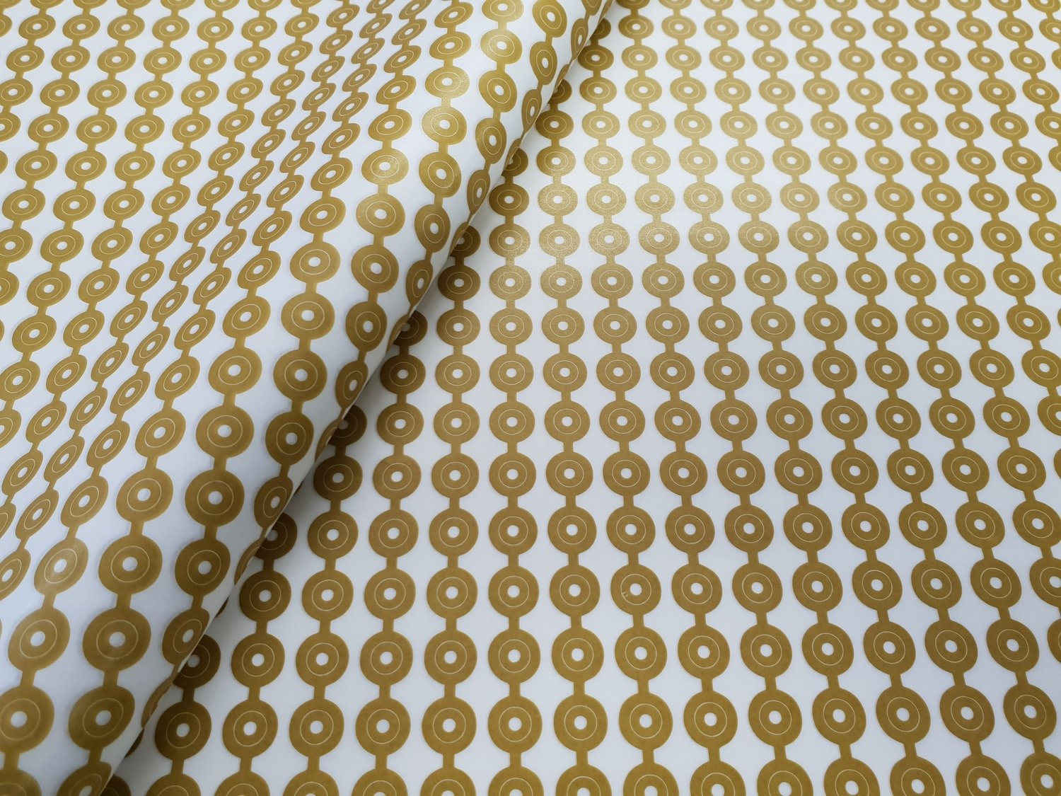 Tissue Paper- African Yellow Beads (Qty 25)