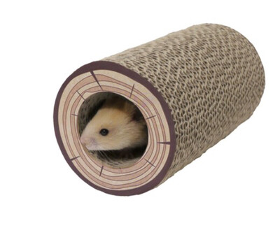Rosewood Shred A Log Corrugated Tunnel Chew Roll