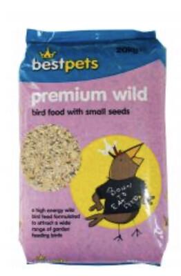 Best Pets Premium Seed Mix Garden Bird 20 Kg